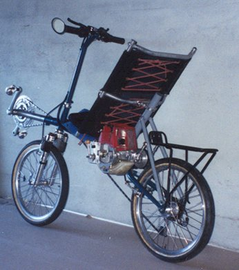 Hugh Currin's ICE power assist recumbent
